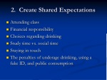 2 create shared expectations