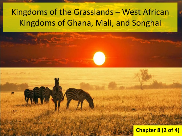 kingdoms of the grasslands west african kingdoms of ghana mali and songhai n.