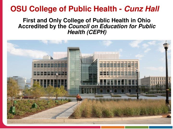 OSU College of Public Health -