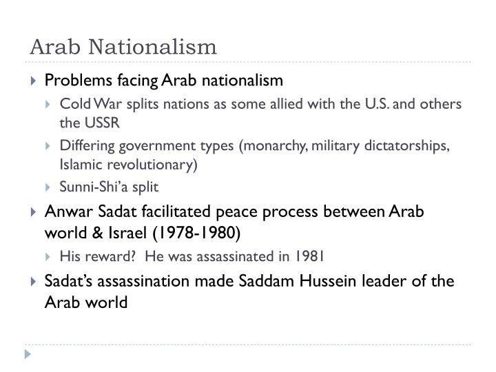 Arab Nationalism