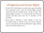 un agencies and human rights2