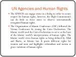 un agencies and human rights4