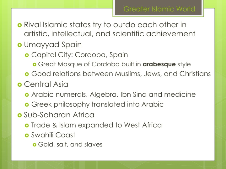 Greater Islamic World