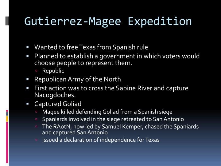 Gutierrez-Magee Expedition