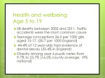 health and wellbeing age 5 to 19