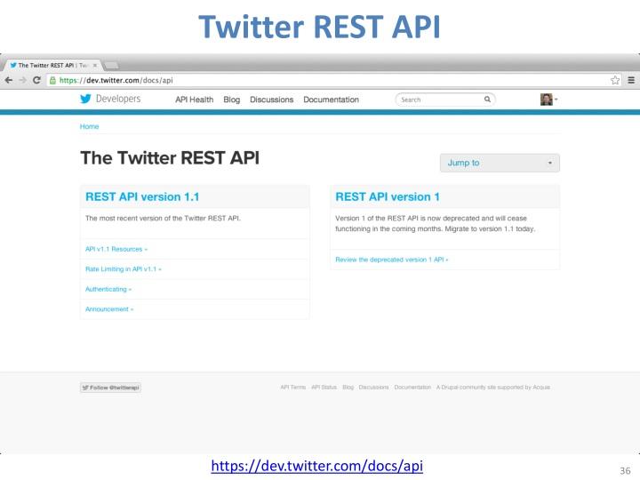 Twitter REST API