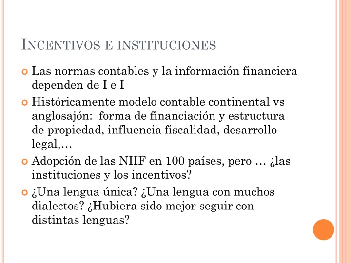Incentivos e instituciones