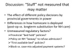 discussion stuff not measured that may matter