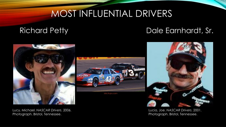 Most Influential Drivers