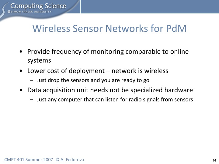 Wireless Sensor Networks for