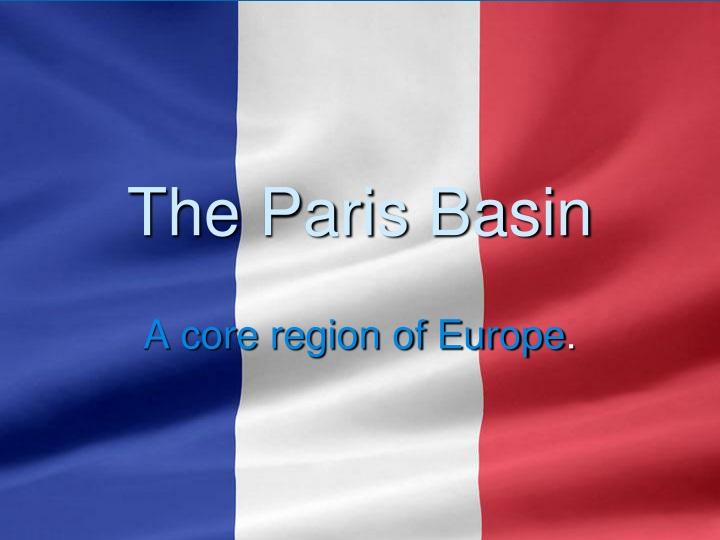 the paris basin n.