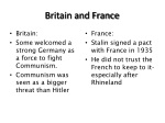 britain and france