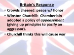 britain s response