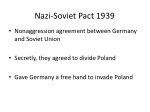 nazi soviet pact 1939