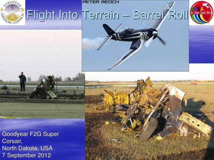 Flight Into Terrain