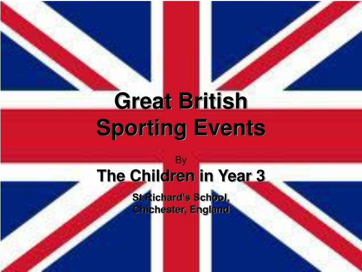 great british sporting events n.