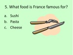 5 what food is france famous for