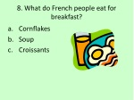 8 what do french people eat for breakfast