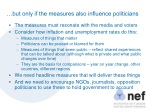 but only if the measures also influence politicians