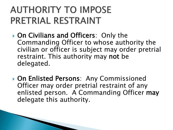 AUTHORITY TO IMPOSE
