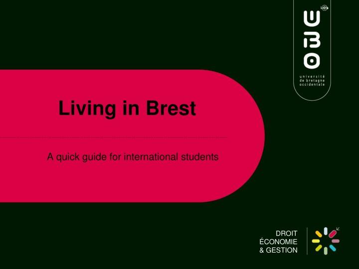 Living in brest
