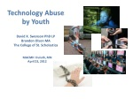 technology abuse by youth