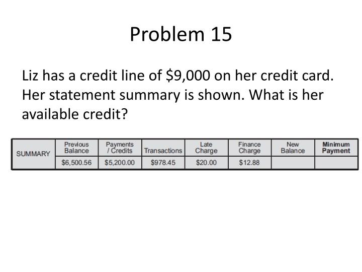 Problem 15