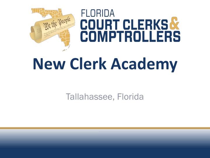new clerk academy n.