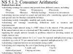 ns 5 1 2 consumer arithmetic