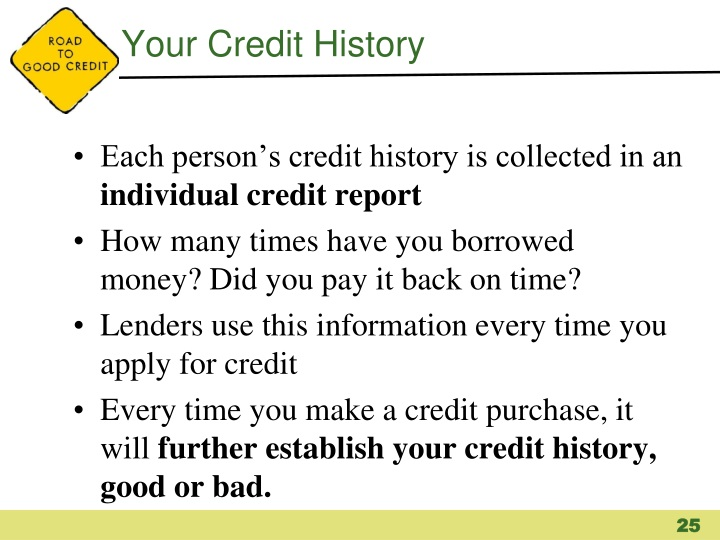 Your Credit History