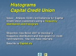 histograms capital credit union