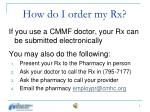 how do i order my rx