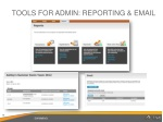 tools for admin reporting email