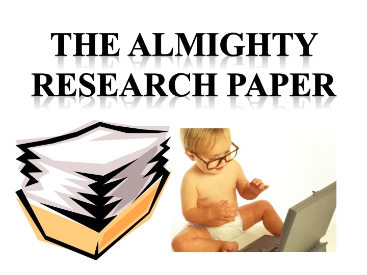 the almighty research paper n.