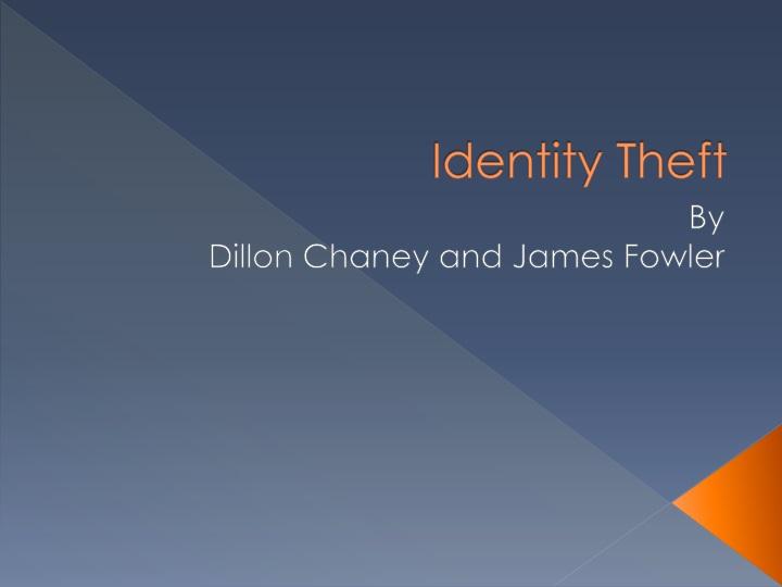 identity theft n.