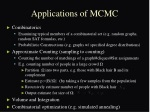 applications of mcmc