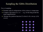 sampling the gibbs distribution