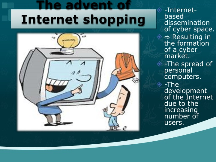 delimitation of internet shopping Scope and limitation online store significance of the study and scope and delimitation introduction grading system is online shopping is the way to.
