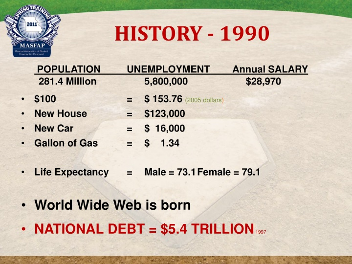 HISTORY - 1990