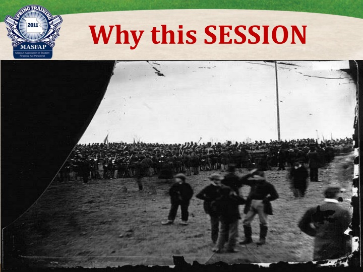 Why this SESSION