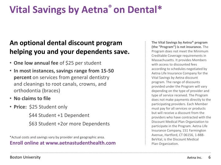 Vital Savings by Aetna