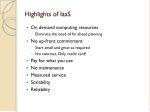 highlights of iaas