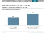 most employers believe health reform has been good for massachusetts