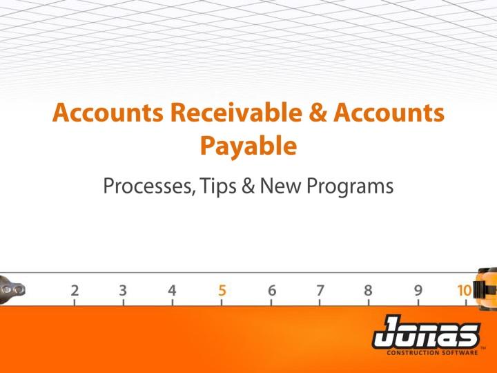 accounts receivable accounts payable n.