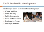 empa leadership development