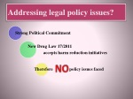 addressing legal policy issues
