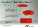 envirowise geo training agenda