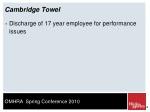 cambridge towel