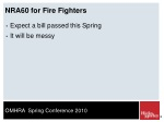 nra60 for fire fighters