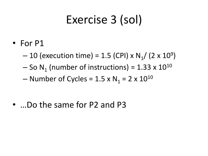 Exercise 3 (sol)